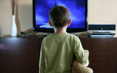Will Sitting Too Close to the TV Hurt My Child's Eyes?